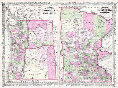 GEOGRAPHY MAP ILLUSTRATED OLD WWII JAPANESE AERONAUTICAL AUSTRALIA PRINT BB4511A