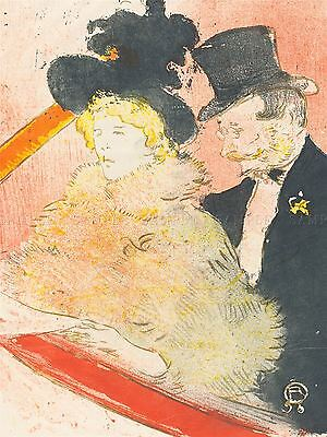 CHARLES MAURIN FRENCH HENRI DE TOULOUSE LAUTREC OLD ART PAINTING POSTER BB5089A