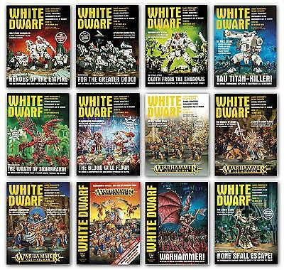 White Dwarf Magazine WarHammer Age of Sigmar Fantasy 2015 Back Issues 45-100,NEW