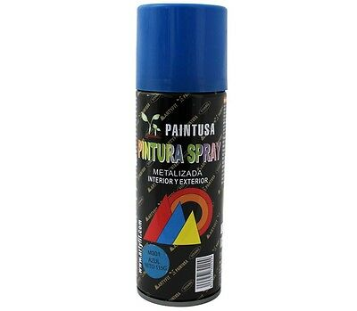 Paintusa - Bote de pintura metalizada en spray azul M301 200 ml