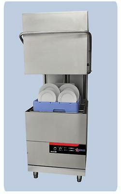 OMCAN High-Temp Door-Lift Upright Commercial Restaurant Dishwasher Panwasher NEW