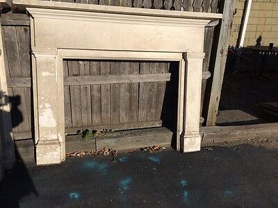 Pair Antique Federal fireplace mantels Newport Rhode Island.