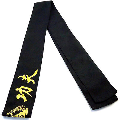 Shaolin Kung fu Wushu Sashes with Embroidery for Suits Uniform Belt