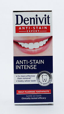 Denivit Anti Stain Expert Professional Whitening Toothpaste 50Ml Stain Removal