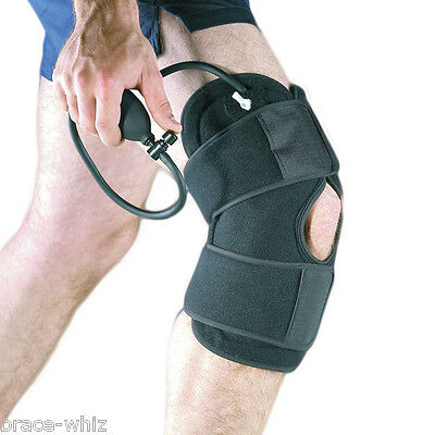 Body Med Cold Therapy Wrap Compression for Knee Pain Swelling Gel Packs Included