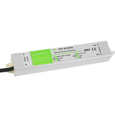 90-250VAC 12VDC 1.67A 20W Waterproof LED Driver Power Supply Adapter Transformer