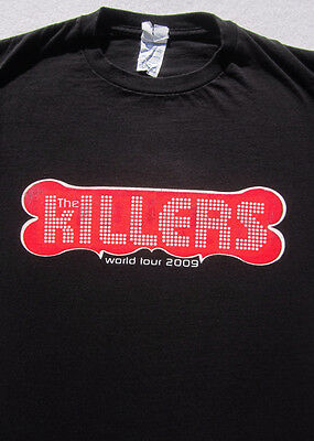 THE KILLERS world 2009 tour SMALL concert T-SHIRT