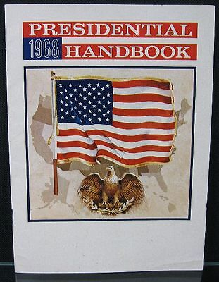 Vintage 1968 Presidential Hand Book Old Crow