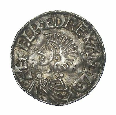 Scarce Aethelred Ii Penny Colchester Long Cross Type  S.1151    *648