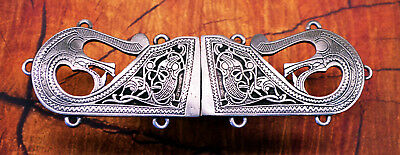 Viking Pewter Cloak Clasp -Medieval/Norse/Handcrafted #0754