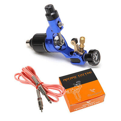 Genuine hummingbird Rotary Tattoo Machine Gun with box + RCA cord kit Sale