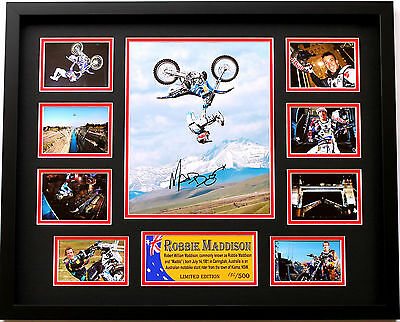 New Robbie Maddo Madison Signed Limited Edition Memorabilia Framed