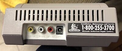 Nintendo NES-101 Top Loader w/ 3D Printed Back Composite AV LED installation !