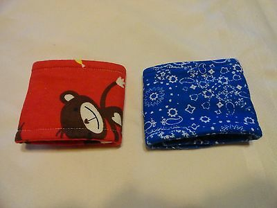 "2 Pk Male Dog Diaper Belly Bands choose size 7-8"" up to 15-16"" waist  handmade"