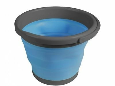 Kampa Silicone Sided 5 Litre Folding Bucket