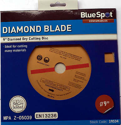 "Diamond Cutting Disc 230mm 9"" wheel angle grinder blade Discs Brick Concrete"