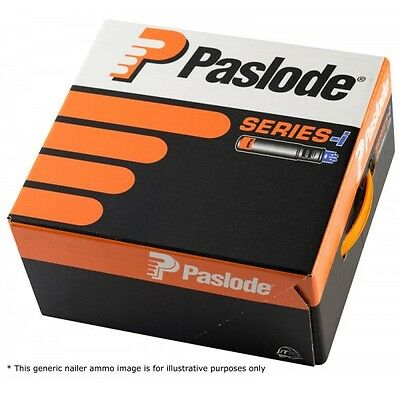 141227 Paslode IM350 3.1x75mm Ring Galv Plus Nails (2200 Per Box + 2 Fuel Cells)