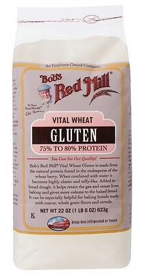 Bob's Red Mill Low Carb Vital Wheat Gluten - 623 g, High Protein