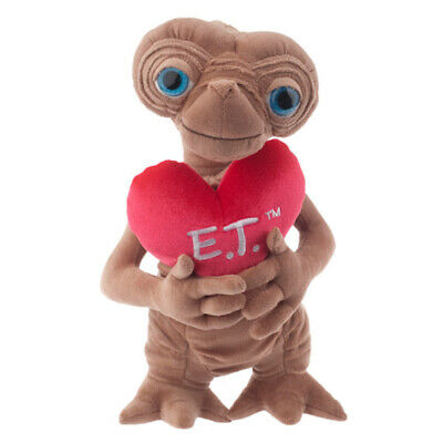 """universal studios 18"""" E.T. extra terrestrial with heart love plush new with tags"""