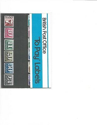 1977 Royal Mail Presentation Pack Postage Dues Pack 93