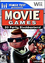 Movie Games 20 Party Blockbusters Nintendo Wii Video Game New Sealed