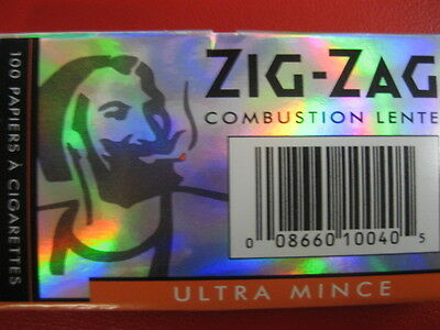 25 Zig-Zag Ultra Thin SLOW BURNING Rolling paper  25*100