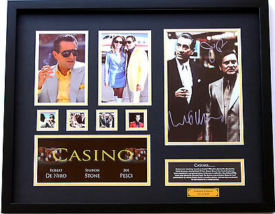 New Casino Signed Limited Edition Memorabilia Framed