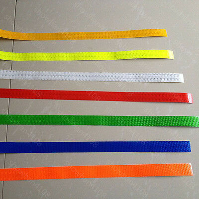 """Safety Caution Reflective Warning Tape Sticker Self adhesive Tape 1"""" Width New"""