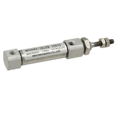10mm Stroke Single Rod Magnetic Piston Air Cylinder