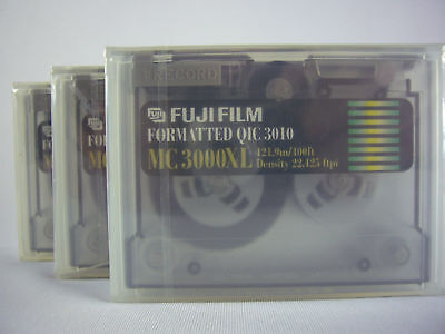 3x Mini Data minidata cartridge FUJI MC 3000XL  __NEW__