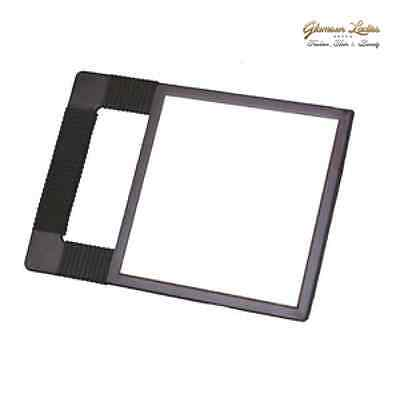 Black Hair Salon Mirror, Hairdressing Cutting Mirror Square Mirror Hair Tools