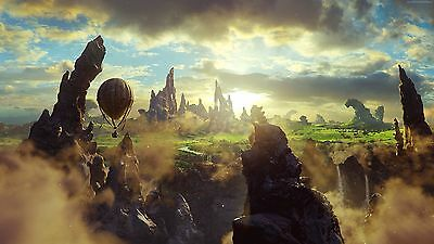 FANTASY WORLD - Beautiful Landscape Large Wall Art Canvas Picture 20x30""
