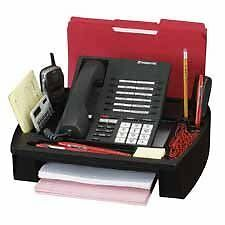 Desk phone stand and file mail organizer for home or office FREE SHIPPING