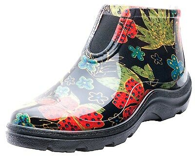 Sloggers 2841BK09 Women's Rain and Garden Ankle Boots with Comfort Insole Siz...