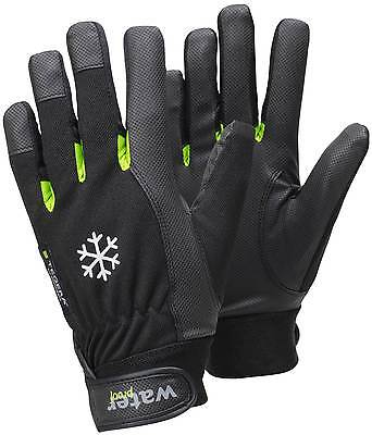 Tegera 517 Winter Lined Thermal Waterproof Syn. Leather Gloves Velcro Fastening