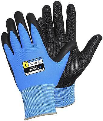 Confident Scan Palm Dipped Black Nitrile Gloves Size 11 Extra Extra Large Work Gloves