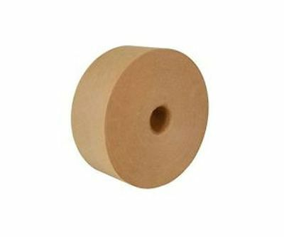 10 Rolls Intertape Water Activated Convoy Natural Med Duty Paper Tape 3inx600ft