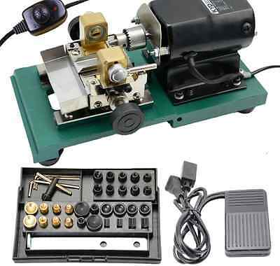 Pearl Drilling Holing Machine Driller Full Set Jewelry Tools Fast Shipping 220V