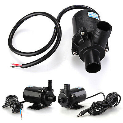 DC Submersible Brushless Water Pump for Fountain Pond Aquarium Fish Tank 12V