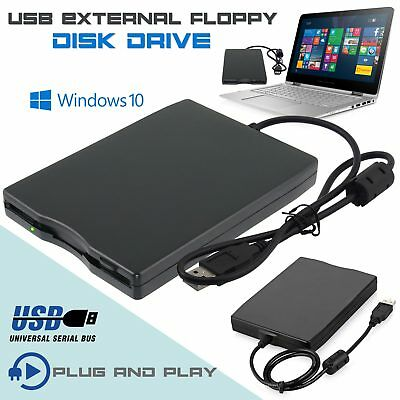 3.5″ USB External Portable Floppy Disk Drive 1.44Mb Data Storage For PC Laptop!!