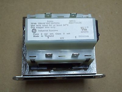 Ge 453Xt1Aj2E, 75Va Control Transformer 120 - 24 Vac General Electric