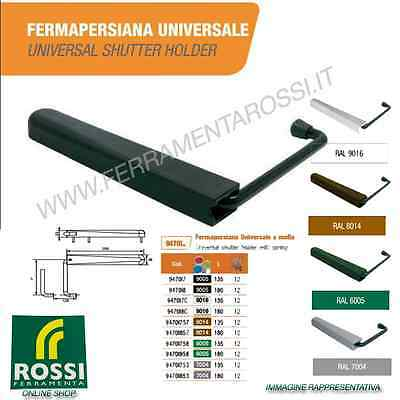 FERMAPERSIANE UNIVERSALI CON MOLLA INOX ANTA SING. TORBEL 135 mm COLORE MARRONE