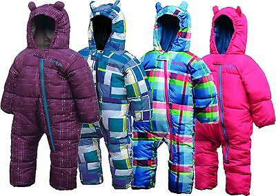 333a3a6dfb7 DARE2B BUGALOO SNOWSUIT Kids Padded All-In-One Waterproof Snow Suit Boys  Girls - EUR 13,36 | PicClick FR