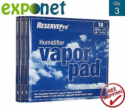 ReservePro Generalaire GA10 Humidifier Pads Pack of 3 Filters
