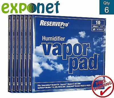ReservePro Generalaire GA10 Humidifier Pads Pack of 6 Filters