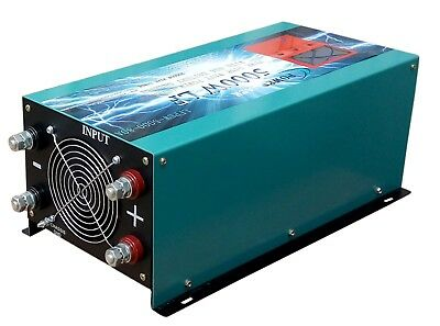5000w watt pure sine wave power inverter dc24v to ac 230v,battery charge,LCD