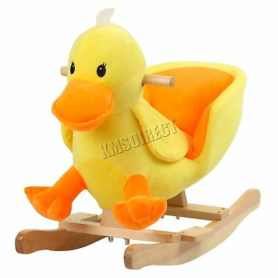 FoxHunter Animal Rocker Baby Kids Rocking Infant Toddler Children Toy Gift Duck