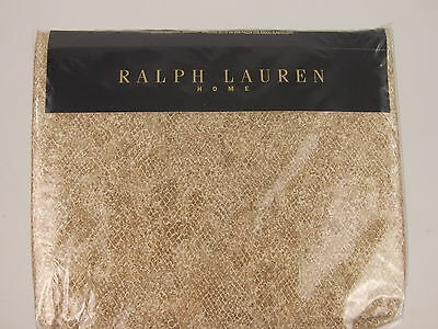 Ralph Lauren Home - Mojave Python Textured Fitted Sheet 60% Off Rrp