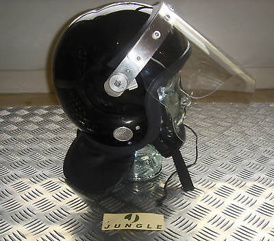 Genuine British MoD Police Riot Helmet / Airsoft / Paintball - Size 58-59cms