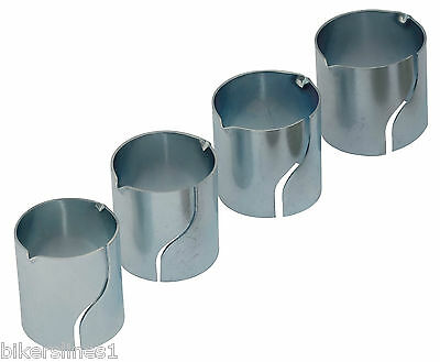 Exhaust Inlet Reducer Kit 4Pc 38Mm/41Mm/44.5Mm/47.5Mm Min Closure 36Mm